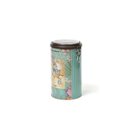 """Magic Home Емкость для сыпучих продуктов """"Бабочка"""" 1800мл, Magic Home  — 309р.  Жестяная банка с крышкой из прозрачного пластика предназначена для хранения сыпучих продуктов. Банка украшена рисунком «Бабочка». Вместительная емкость для круп, сахара или чая плотно закрывается крышкой на металлический замок, продукты сохраняют свежесть и аромат, не впитывают посторонние запахи.   Дополнительная информация:  Не предназначена для мытья в посудомоечной машине.   Объем: 1800 мл  Высота банки Magic…"""