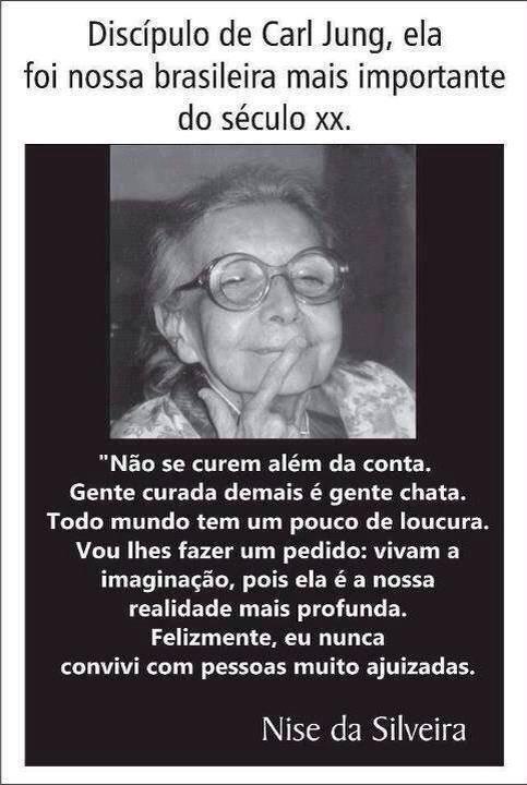 Nise da Silveira - nasceu em Maceió, 15 de fevereiro de 1905 e faleceu no Rio de…