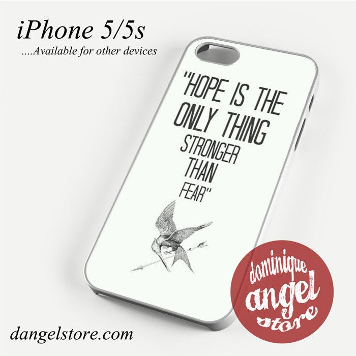 Hunger Game quotes Phone Case for iPhone 4/4s/5/5c/5s/6/6s/6 plus