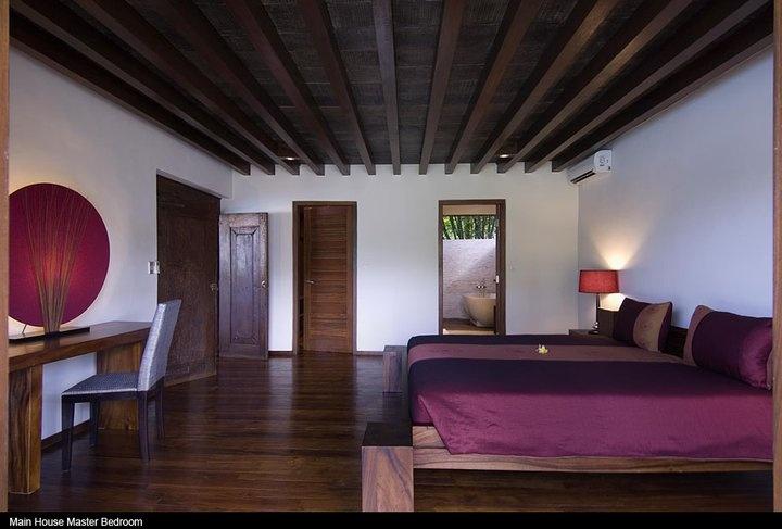 Bali Villa: traditional room