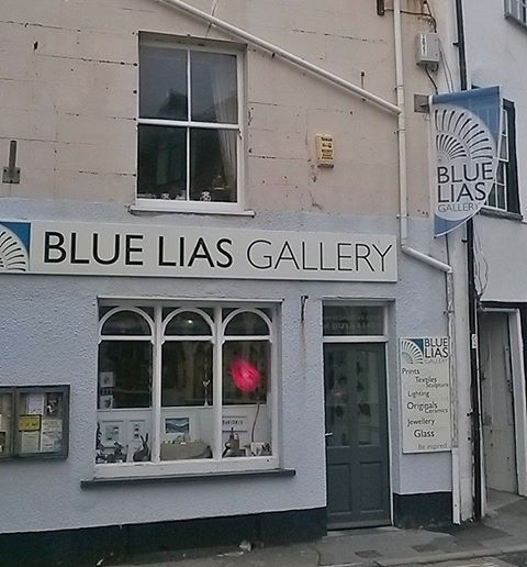 Blue Lias Gallery in Lyme Regis