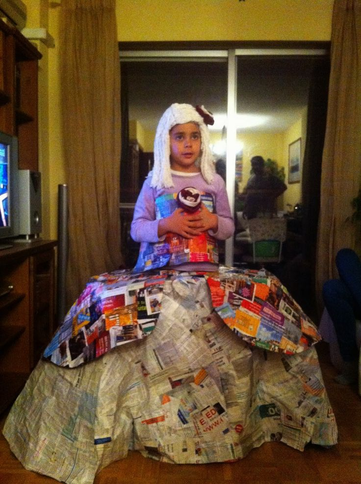 El rincón de Mariann: Disfraz de Menina