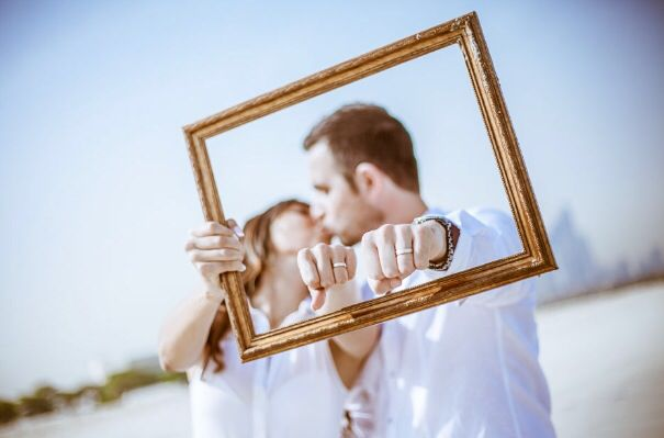 Pre Wedding photoshoot - Frame