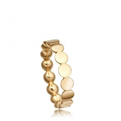 Disc Stilla Ring | Yellow Gold Vermeil | Astley Clarke London #YellowGoldJewellery