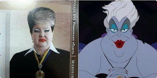 KYJEV - Ukrajinská sudkyňa Alla Bandura sa stala terčom internetových vtipov po tom, čo na sociálnych sieťach rozšírila jej fotografia s desivým mejkapom na tvári. Na jednej koláži ju dokonca prirovnali k zápornej postave z Disneyho rozprávky o Malej morskej víle.