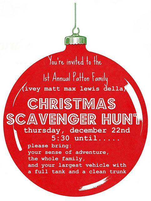 Neighborhood Christmas Scavenger Hunt [] @vivint #letsneighbor Kate W