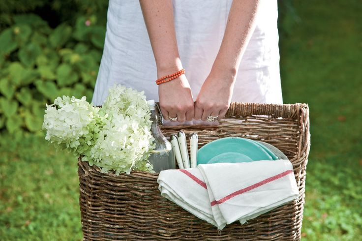 Think portability and casual charm for picnic recipes. Find not-so-perfect wicker baskets, hand-me-down vintage blankets, and charming quilts to set up a perfect picnic. These picnic recipes are both portable and casual, making for the perfect picnic menu.
