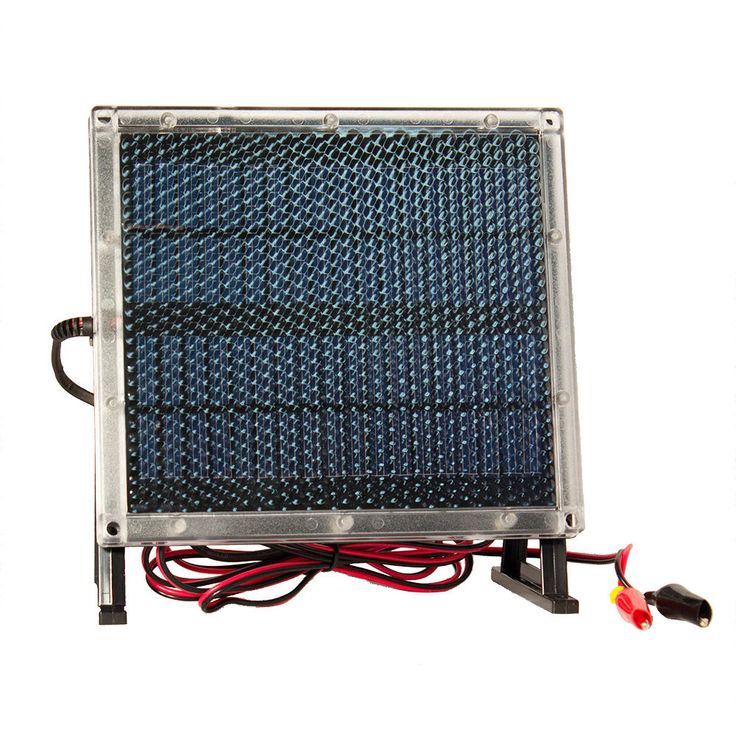 12V Solar Panel Charger for 12V Toro Lawn mower #106-8397 Battery #MightyMaxBattery
