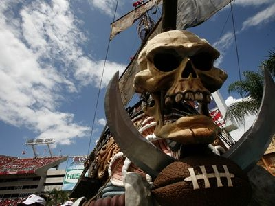 Cowboys Buccaneers Football: Tampa, FL - The Pirate Ship