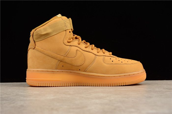 wholesale dealer acfc5 45f8b Nike Air Force 1 High-Top 882096-200 Mens Shoes Wheat on www.kd11zoom.com