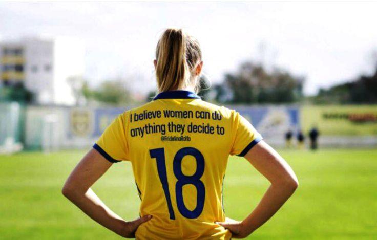 Sweden National Team Celebrates International Women's Day With New Inspirational Jerseys. #Sweden #SwedenSoccer #SwedenNationalTeam #womenssoccer #soccerswag #socceruniforms #soccerjerseys #InternationalWomensDay #women #inspiration