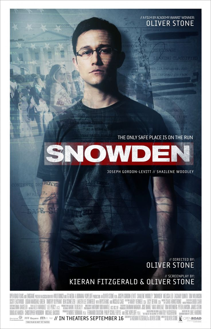Return to the main poster page for Snowden