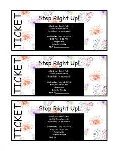 Ticket-Invitation-Template