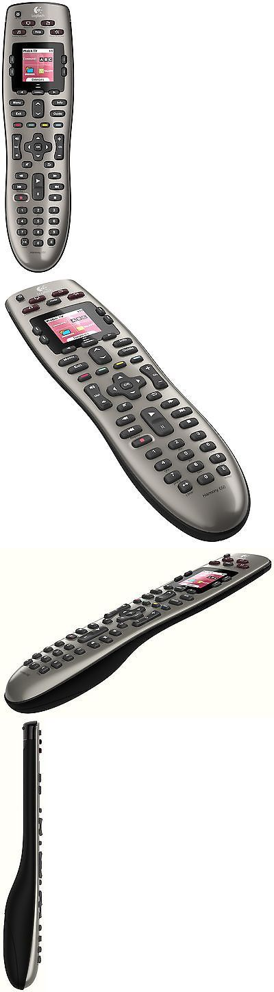Remote Controls: Logitech Harmony 650 Infrared All In One Remote Control Universal Remote ... New BUY IT NOW ONLY: $55.94
