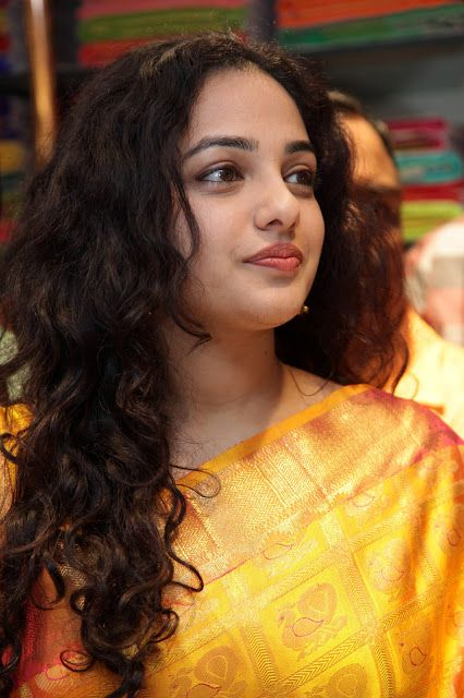 Beauty Galore HD : Nithya Menon Looks Damn Cute In Her Curly Hair At ...