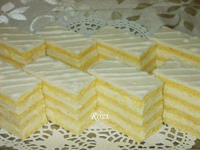 Rozi Erdélyi konyhája: Hófehérke sütemény