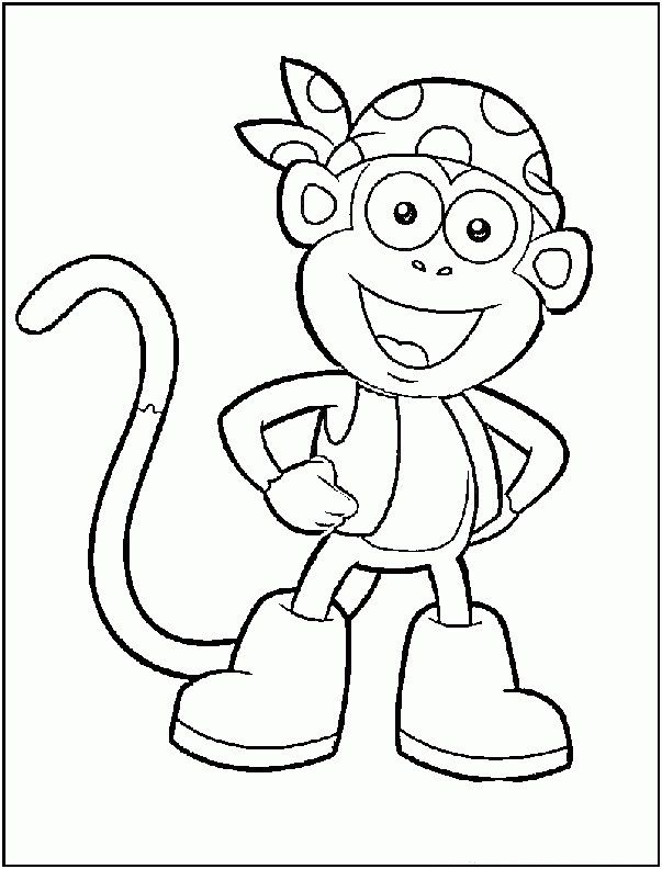 dora stars coloring pages-#28