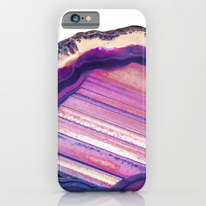 Purple Agate iPhone & iPod Case by Cosmic Revelations | Society6