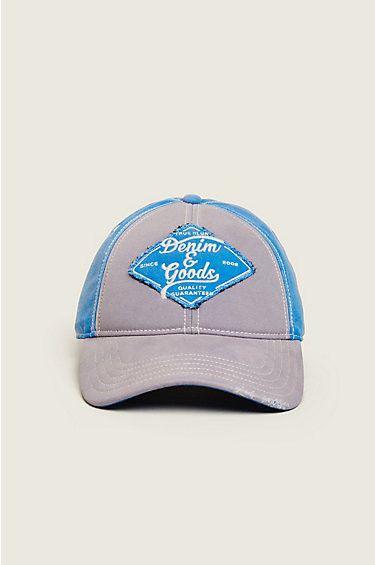 True Religion Denim n Good Baseball Cap- TR2310