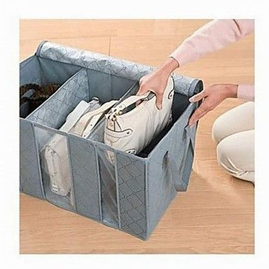 Bamboo Charcoal Clothes Storage Boxes – USD $ 6.99