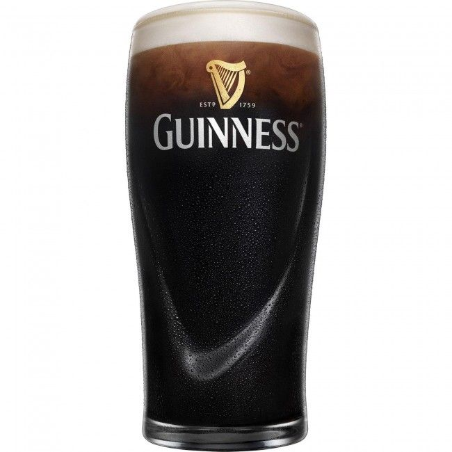 Serve your next round of drinks in this set of four Luminarc Guinness Pint glasses.