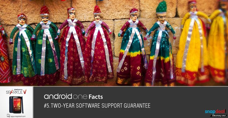 Android One Fact #5. Two year software support guarantee!!! Get it here: http://bit.ly/-SparkleV