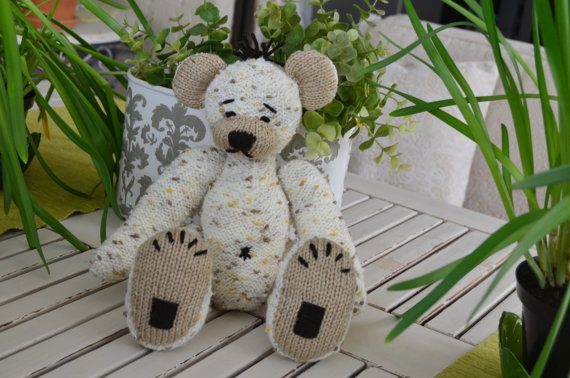 Teddy Bear Marcello, can be bought or the pattern purchased from https://www.etsy.com/listing/451586088/teddy-bear-marcello