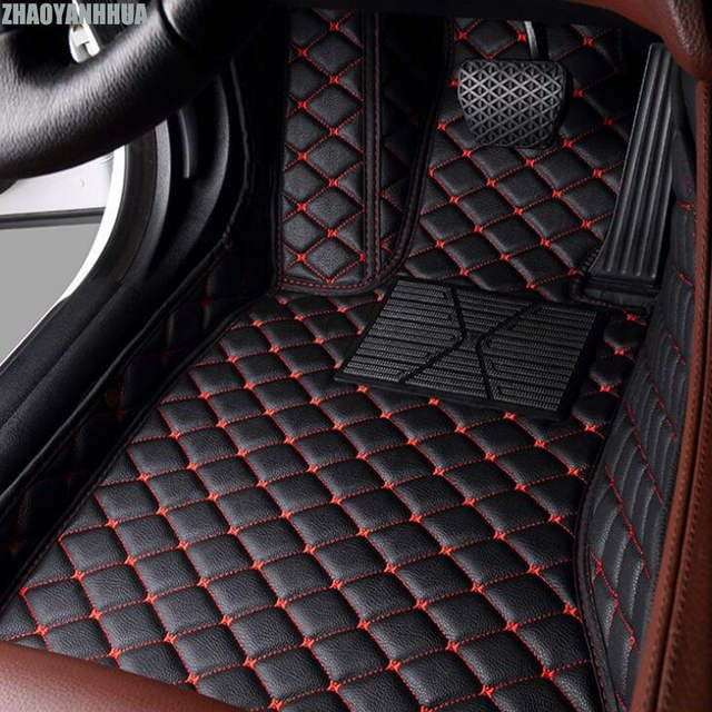 Online Shop Zhaoyanhua Custom Fit Car Floor Mat For Mercedes Benz W203 W204 W205 C Class 180 200 220 250 300 3 Car Custom Car Interior Car Interior Accessories