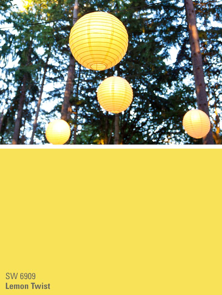 Sherwin Williams Yellow Paint Color Lemon Twist Sw 6909 Party Inspiration For Paints In