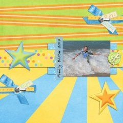 Layout Made with Staycation At The Beach by Mad Genius Designs