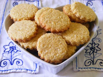 Makacska konyhája: Kókuszos, lime - os keksz