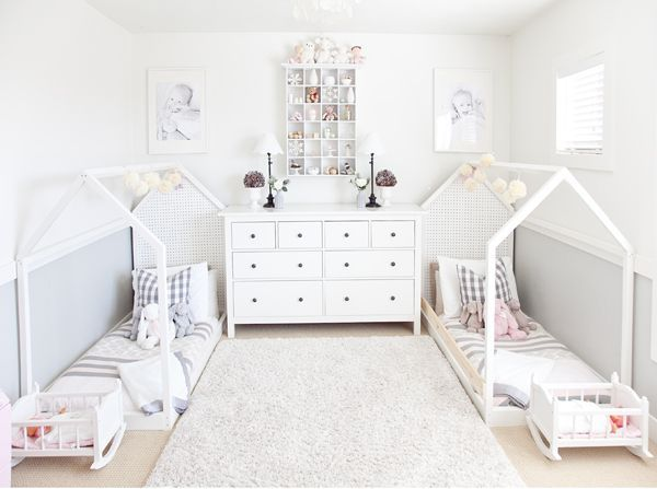 The girls' nursery has always been a magical place for me. After trying to conceive for so many years, it finally became a place where dreams came true when I got to design a nursery for my t…
