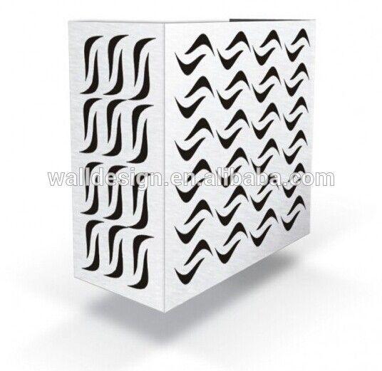 Outdoor alluminio decorativo copertura per proteggere condizionatore d'aria