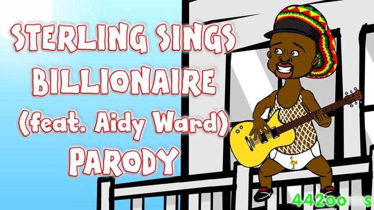 Raheem Sterling sings Billionaire feat Aidy Ward! (Man City Chelsea Tran...