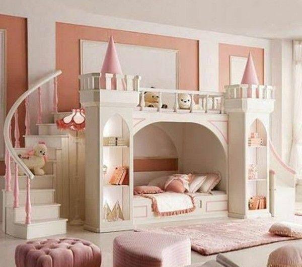 27 Marchenhafte Kinderbetten Kinder Zimmer Kinderschlafzimmer