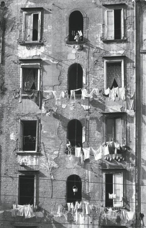 Herbert List, 1959, in Naples, Italy