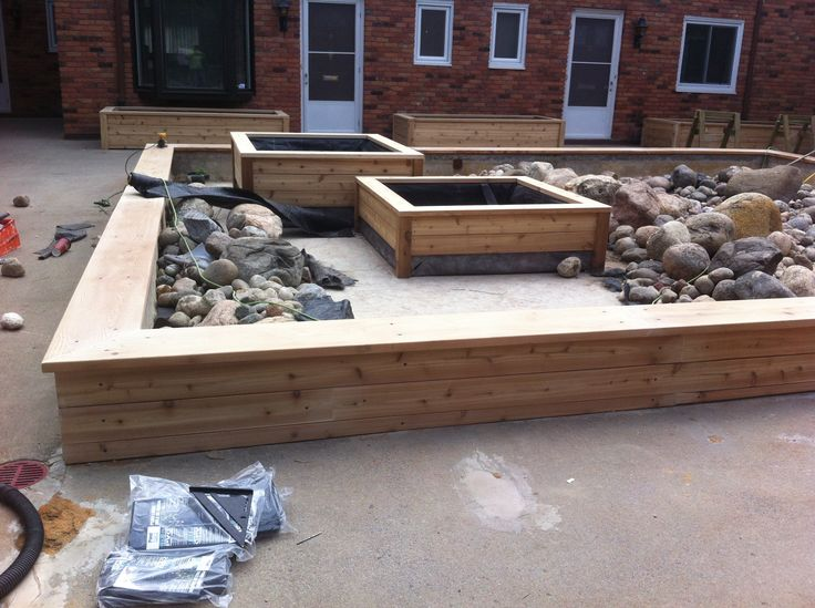 Low maintenance backyard design ideas. Project done by The Anything Guys
