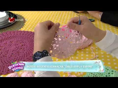 Örgü supla yapımı – Derya Baykal - YouTube