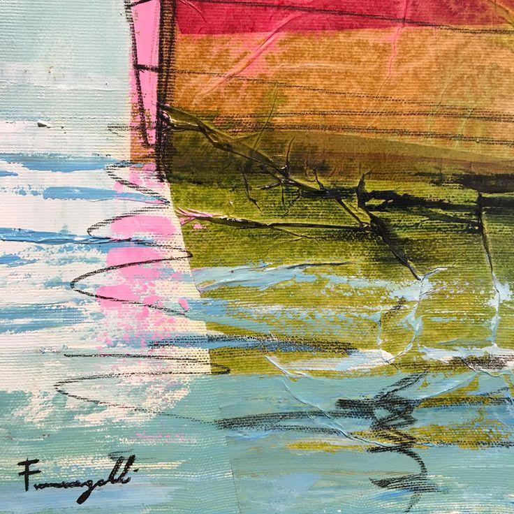 Ingrandimento delle vele di Paolo Fumagalli, artista italiano