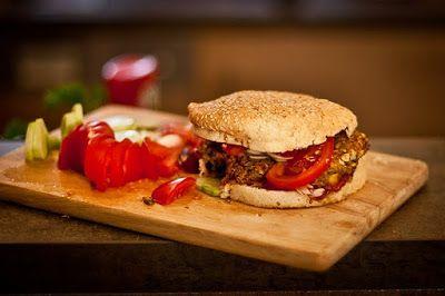 A vegán szépség: Vegán burger