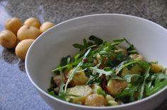 Färskpotatissallad med ruccola | Svensk Potatis