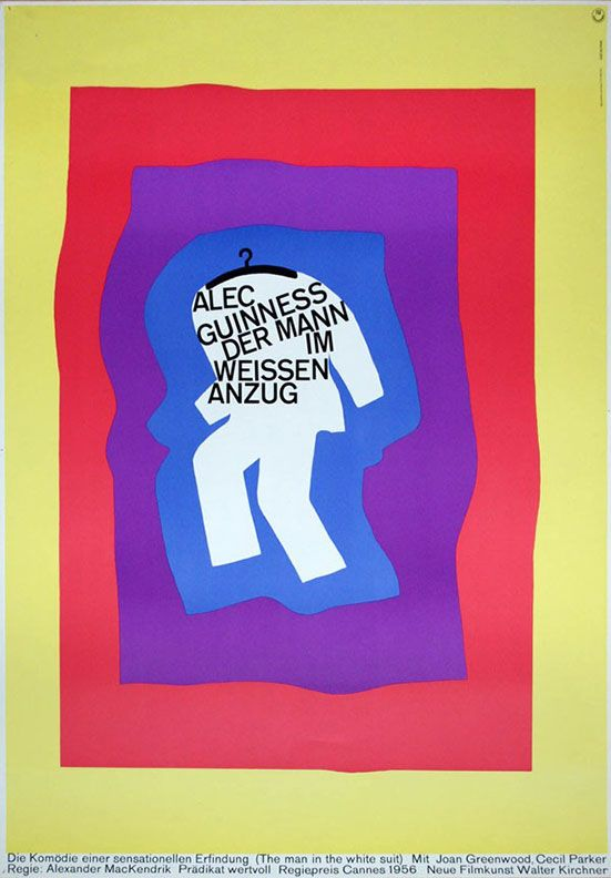 """Movie Poster of the Week: """"Shadows"""" and the Posters of Hans Hillmann - movie blogs"""
