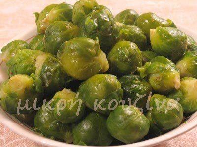 μικρή κουζίνα: Λαχανάκια Βρυξελλών