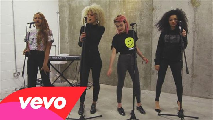 Neon Jungle - Braveheart (Live Performance) Just a cooler Little Mix ???