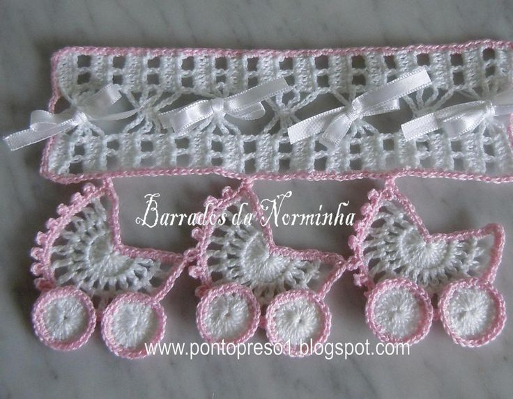 Cute Baby Blanket Border! @ http://pontopreso1.blogspot.hu/2011/03/croche-um-novo-barrado-para-coisas-de.html  does it come with a pattern or a graft and is it free I hope so,  but I need to know were this comes from so I can change it into English please I thank you vey much for this I realy like it very much