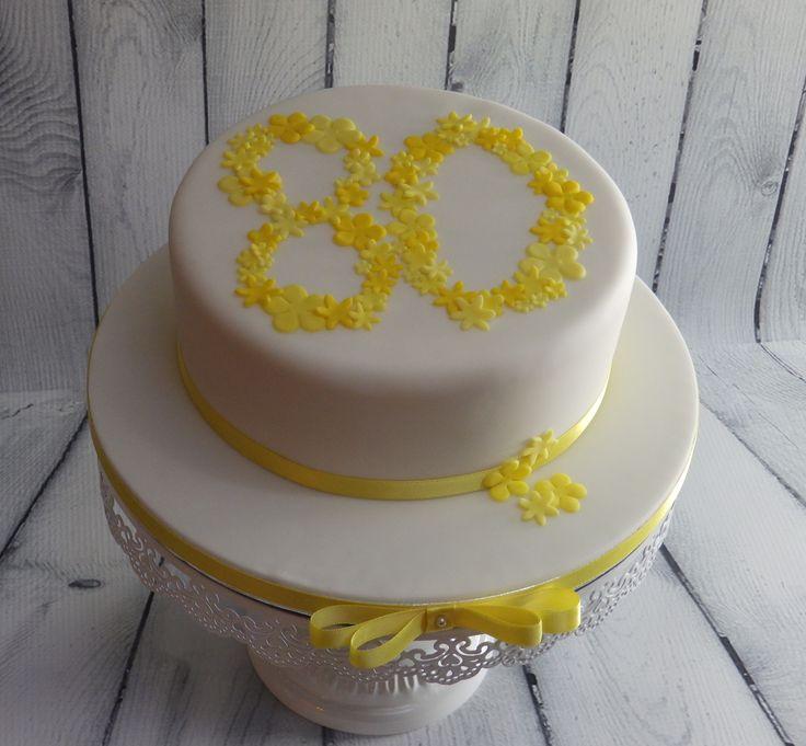 Fancy X On A Birthday Cake