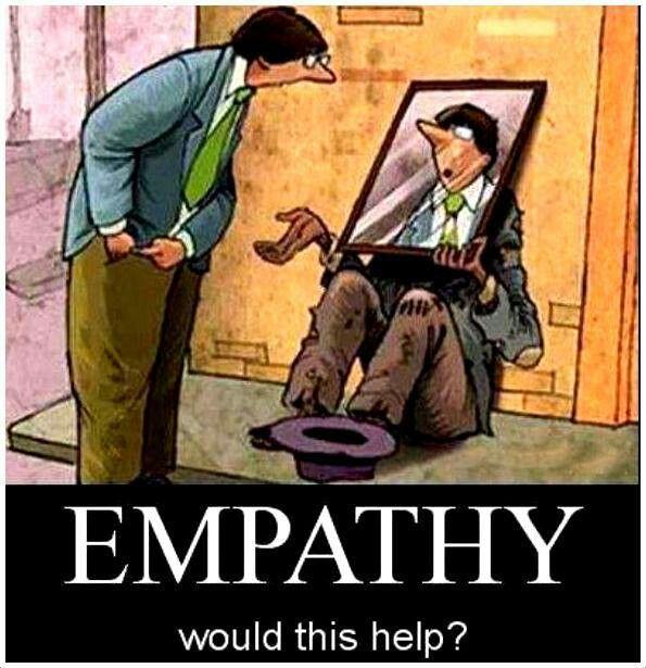 Empathy Quotes Funny. QuotesGram