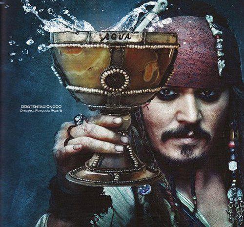 Piratas del Caribe___ el cáliz de la fuente de la juventud.