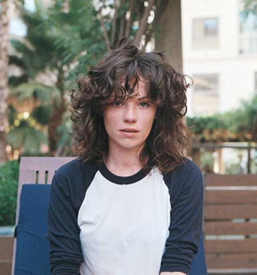 Curly Hairstyle for Short Hair…