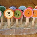 Counting Garden: Preschool Learning Activity